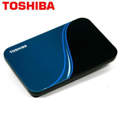 HDD External Toshiba 320GB 2.5 inch - V4 - USB 2.0 ( Blue )